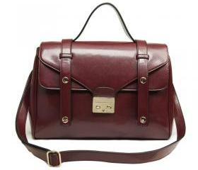 Red Vintage Doctor Satchel