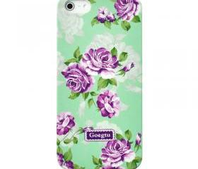 Villatic Style Garden Frosted Case For iPhone 5
