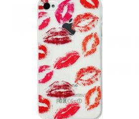 Sexy Lips Ultrathin And Transparent Phone Case For iPhone 4/4S